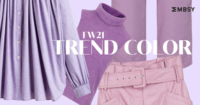 FW21 trend color: lilac