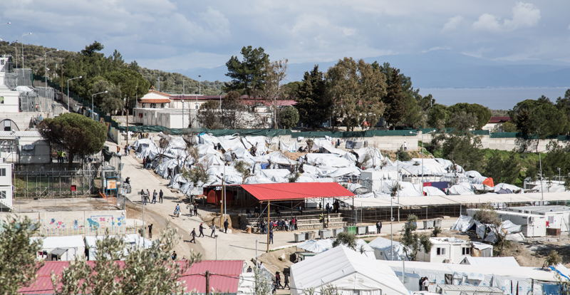 모이라 캠프 전경. ⓒMSF