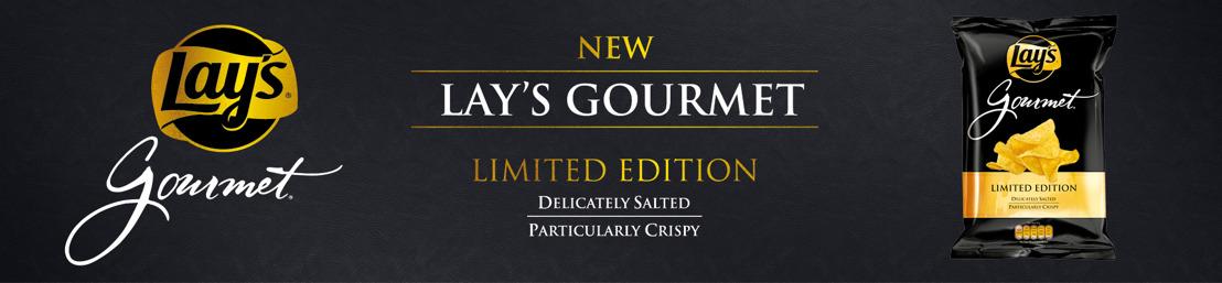 Goud, glitter en Lay's Gourmet