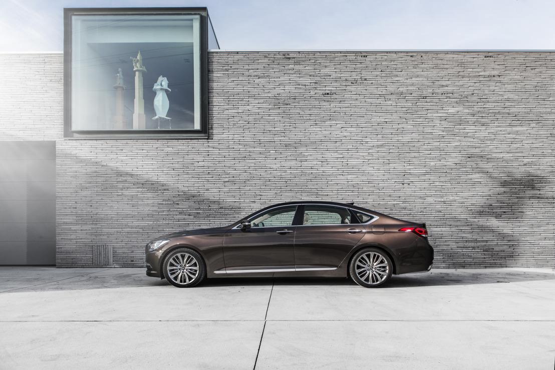 Hyundai führt die neue globale Luxus-Automobilmarke Genesis ein