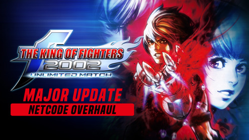 The King of Fighters 2002: Unlimited Match se met à jour et adopte le netcode rollback