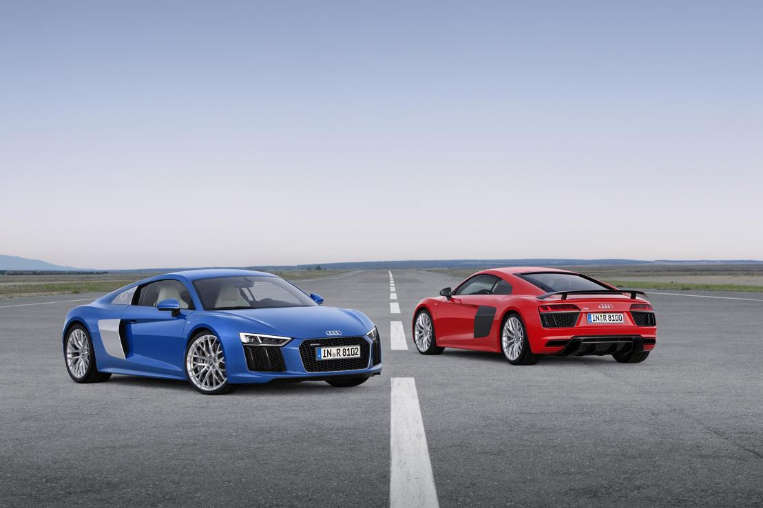 Audi présente la nouvelle Audi R8, un fer de lance sportif encore plus affûté