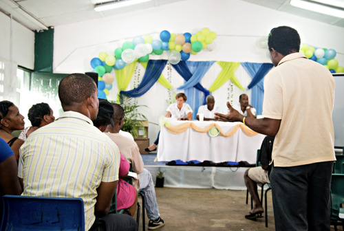 OECS-GIZ host Town Hall Meeting on Human Mobility in the Context of Climate Change in Saint Lucia