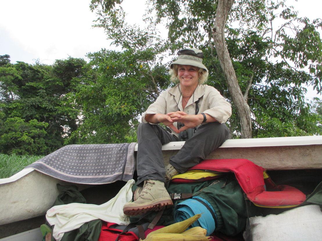 Sur le fleuve Congo