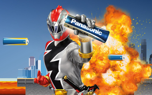 Zyskaj moc dzięki firmie Panasonic i wygraj udział w obozie karate POWER RANGERS
