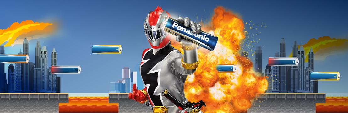 Faites le plein d'énergie avec Panasonic et gagnez votre place au Camp d'entraînement de Karaté POWER RANGERS