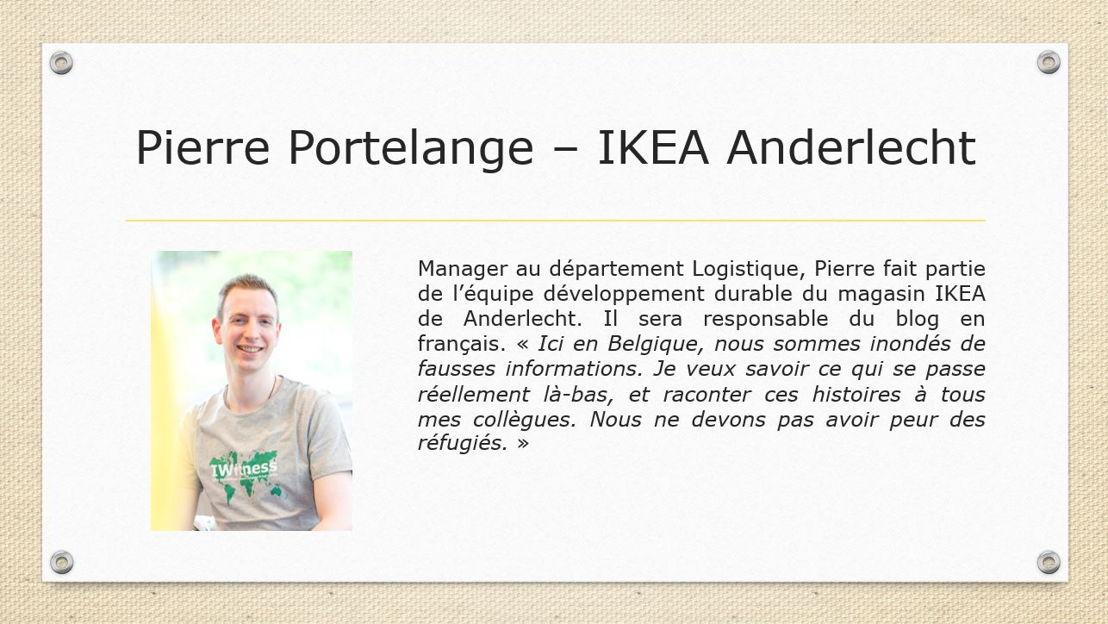 Pierre Portelange - IKEA Anderlecht