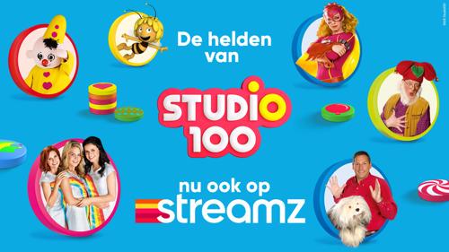 Streamz haalt Studio 100-helden aan boord voor jonge kijkers