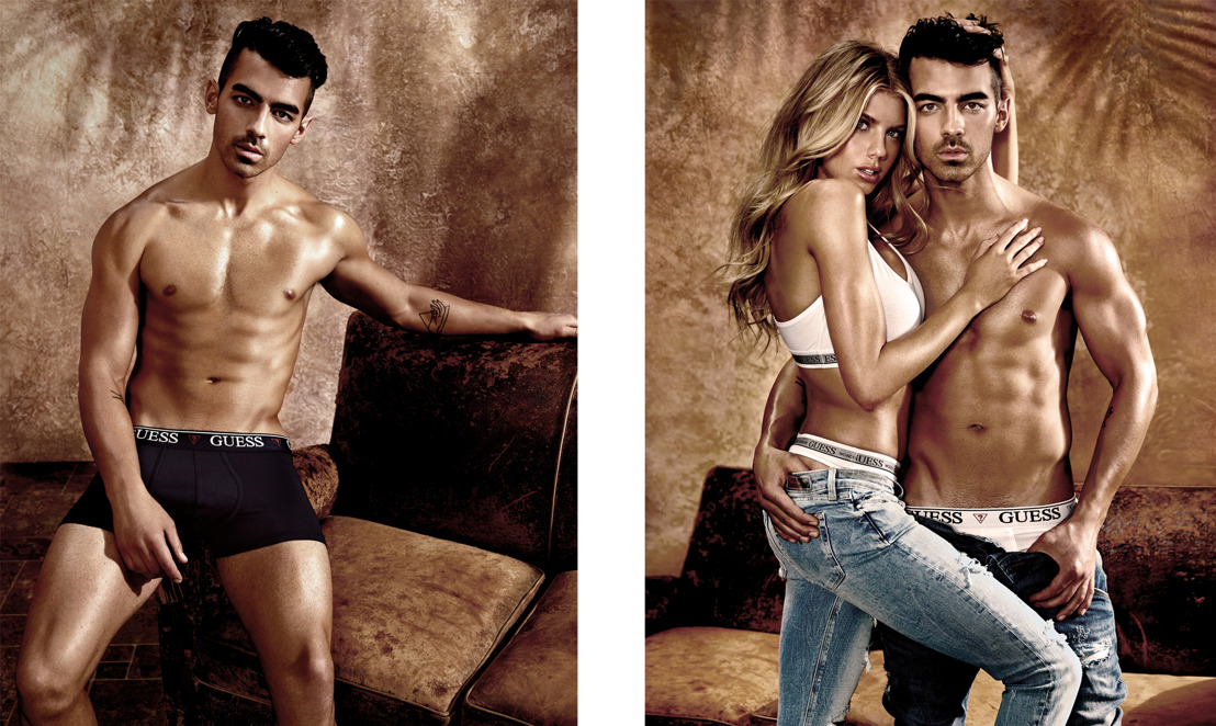 Joe Jonas as the new face of the Guess' SS17 Underwear Campaign