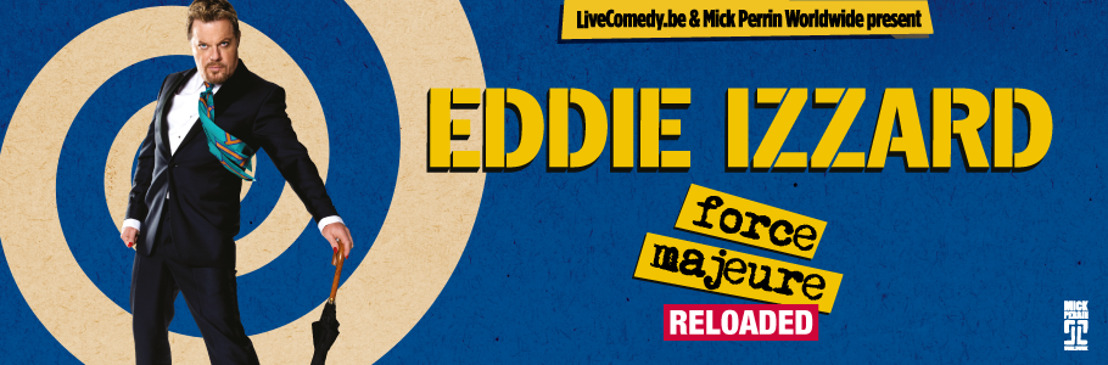 Engelse topcomedian Eddie Izzard keert terug naar België