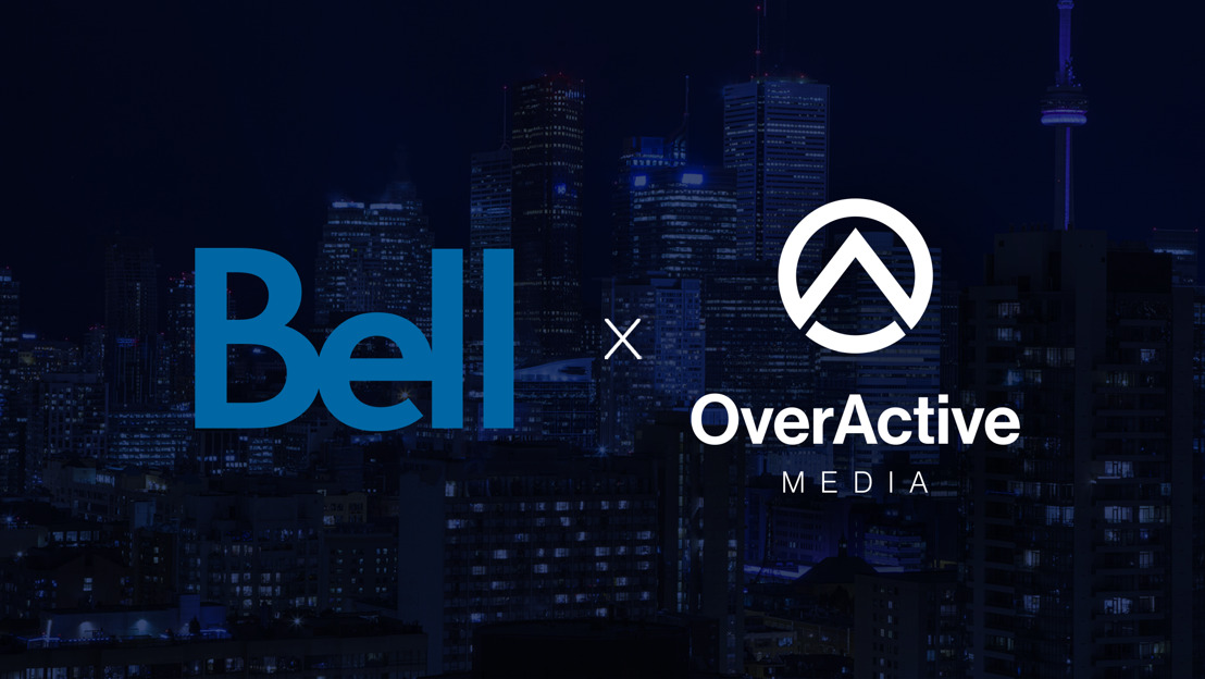 OVERACTIVE MEDIA, BELL ANNOUNCE STRATEGIC PARTNERSHIP