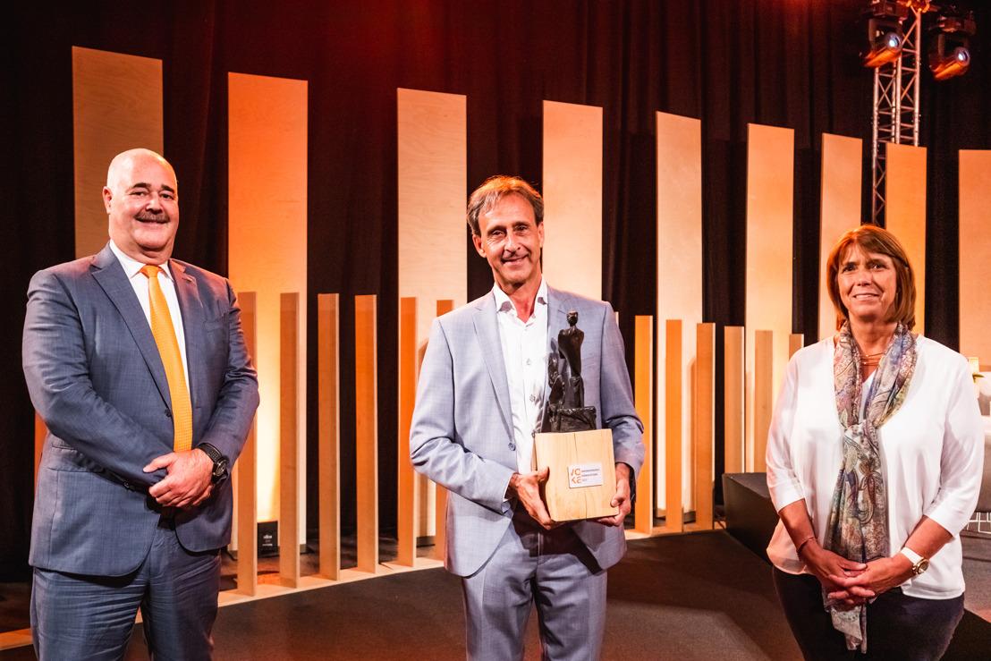 Paul Kerkhofs wint Ondernemersprijs Herman Dessers