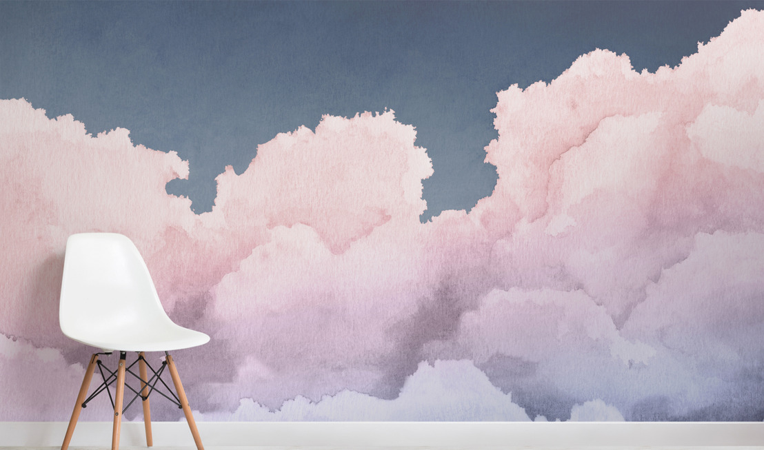 Soaring through the sky with MuralsWallpaper's Equinox Clouds collection