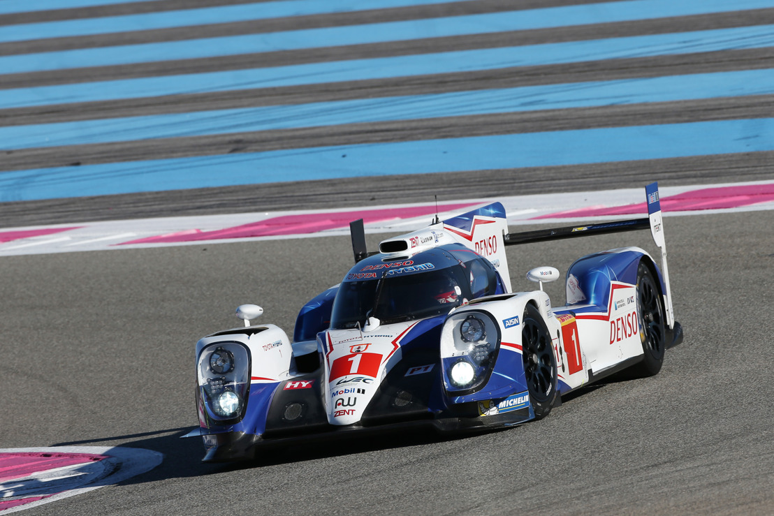 TOYOTA RACING'S CHAMPIONSHIP DEFENCE STARTS HERE