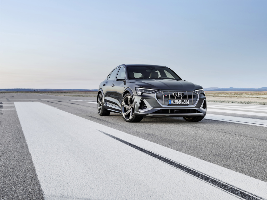 Innovantes, dynamiques et électriques : les Audi e-tron S et e-tron S Sportback