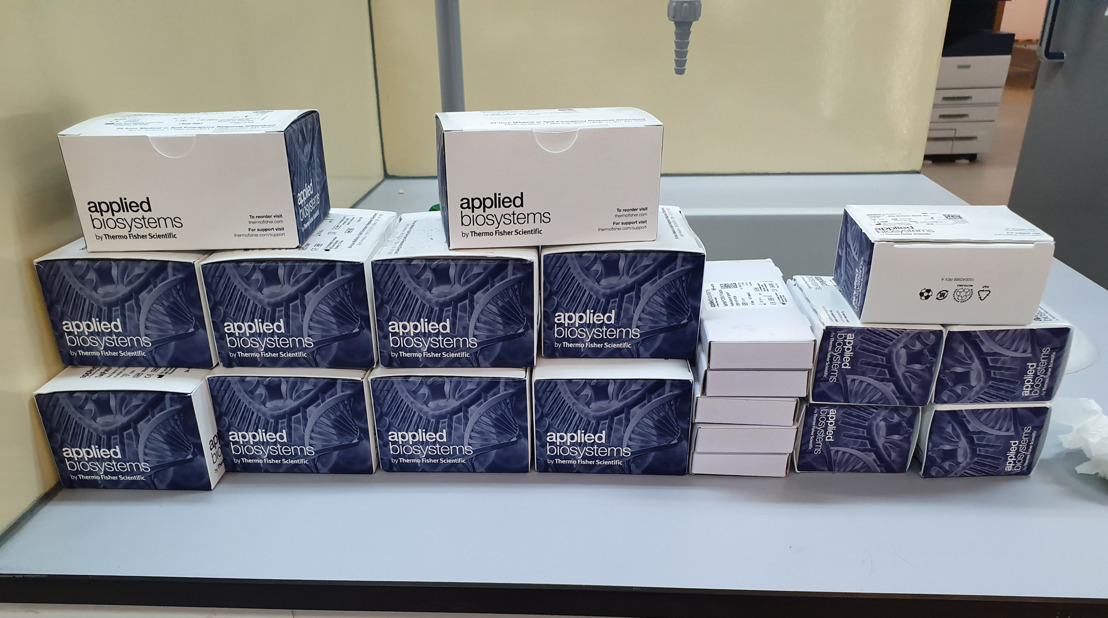 St. Vincent and the Grenadines receive 1000 COVID-19 RT-PCR test kits from the OECS, funded by the Government of Brazil.
