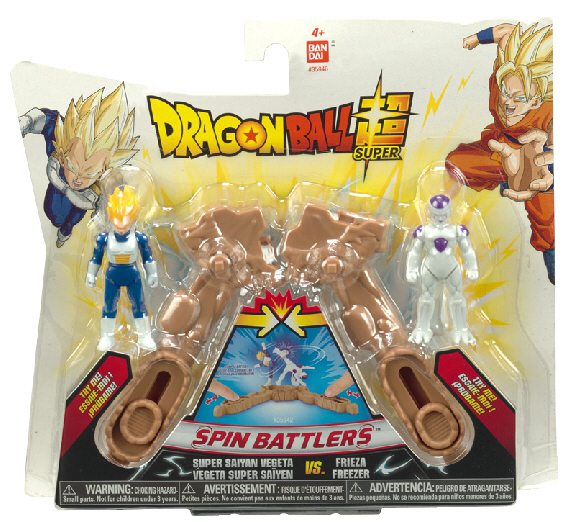 Dragon Ball Spin Battlers Double Pack