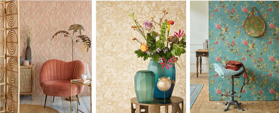 Préparez votre intérieur pour le printemps avec des papiers peints qui se démarquent