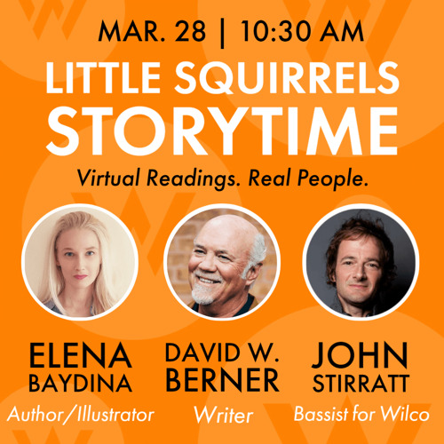 Authors, Artists, Musicians Read To Children at Virtual Storytime