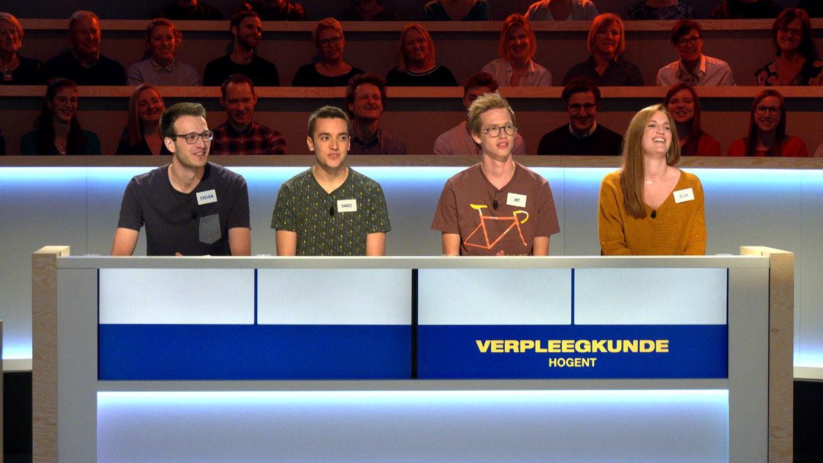 Team Verpleegkunde HOGent (c) VRT/ Woestijnvis