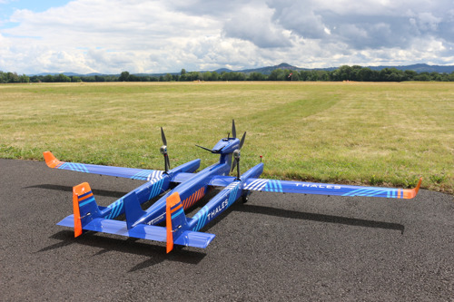 Thales completes successful first flight of new UAS with range capabilities of over 100 km