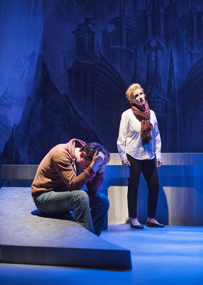 Matt Reznek and Colleen Wheeler in The Valley by Joan MacLeod / Photos by Emily Cooper
