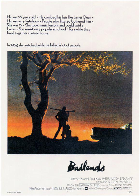 Affiche Badlands