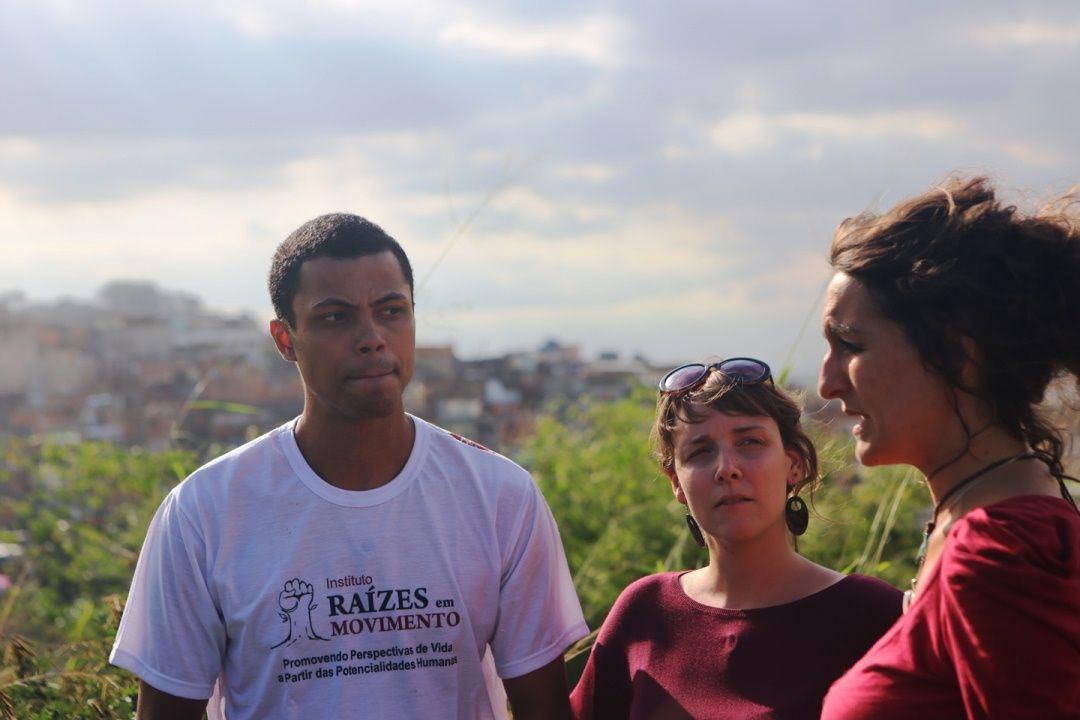Sofie Peeters en Fabienne Haerinck in Rio