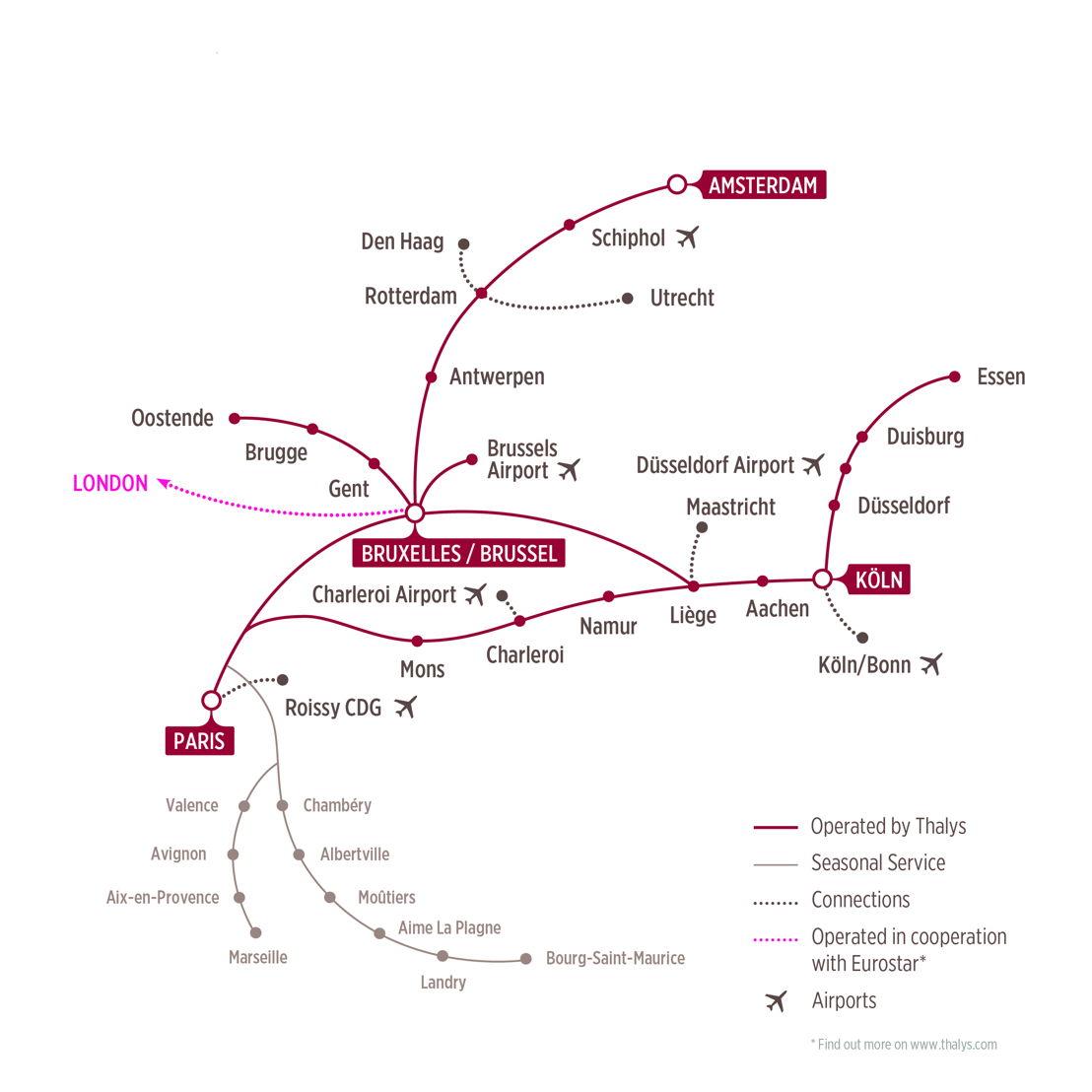 Thalys network