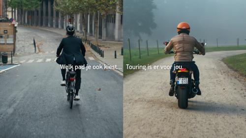 Touring en TBWA laten levenspaden kruisen in nieuwe campagne.