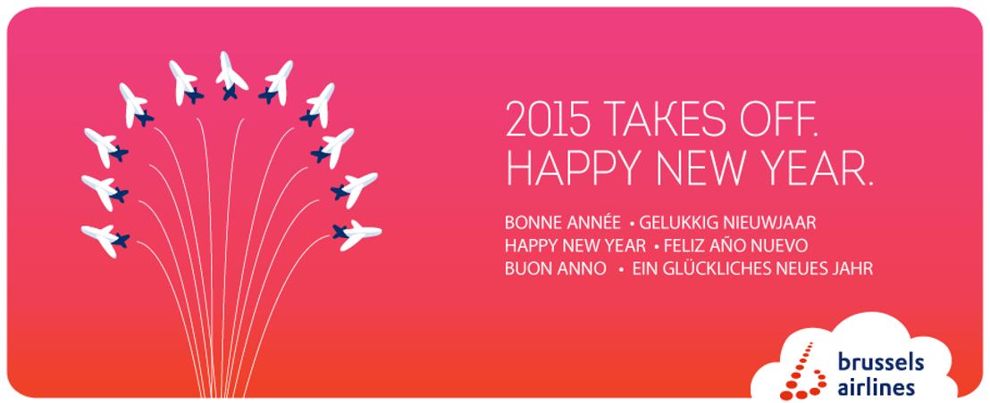 Nos meilleurs vœux pour 2015 ! + nouveaux membres dans le département Communication