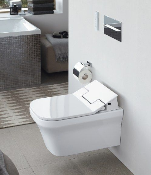 Duravit SensoWash toilet. Image courtesy of Duravit.