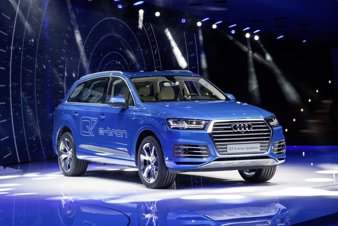Audi Q7 e-tron 3.0 TDI quattro – 59 km met 1 liter diesel