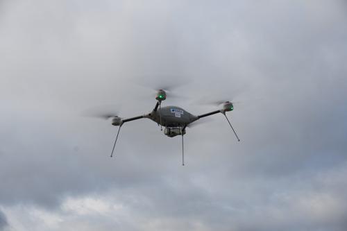 Drohneneinsatz zur Unterstützung der Kontrollen im Hafen Antwerpen