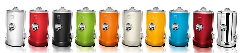 Novis Vita Juicer in 10 verschillende kleuren