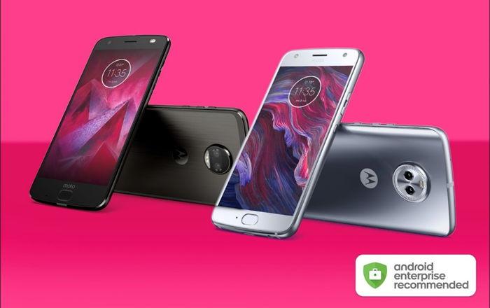 Preview: Motorola sluit zich aan bij Android Enterprise Recommended-programma