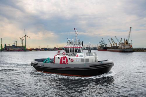 Un remorqueur à hydrogène : une primeur mondiale pour Port of Antwerp