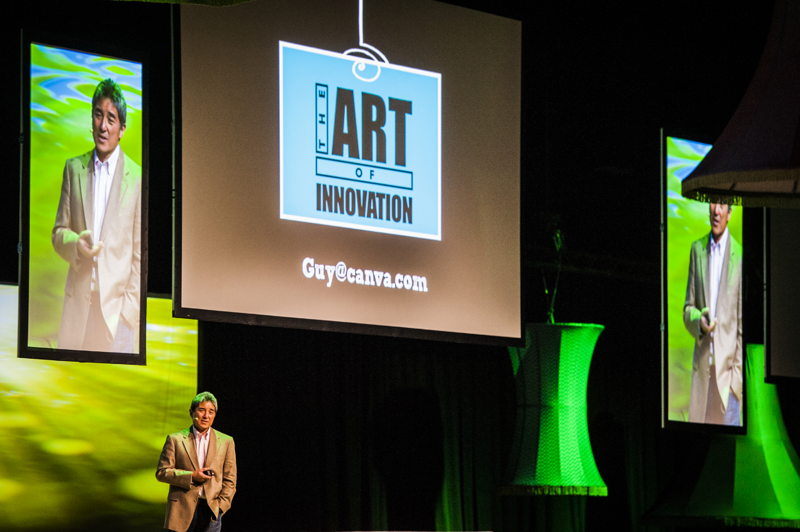 Guy Kawasaki, de eerste sprekers op het Creativity World Forum 2014