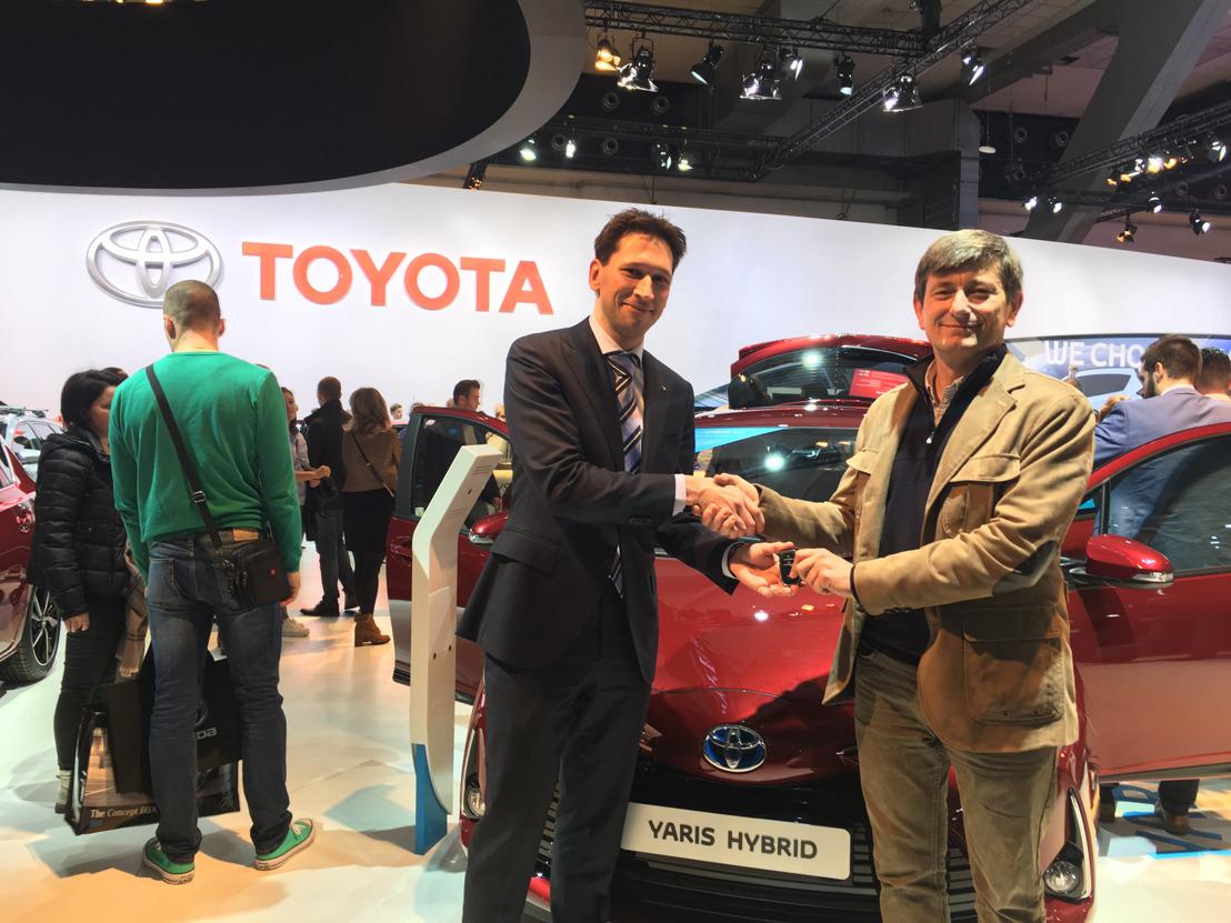 Ontknoping succesvolle editie 'Toyota Hybrid Challenge' tijdens 96e Autosalon