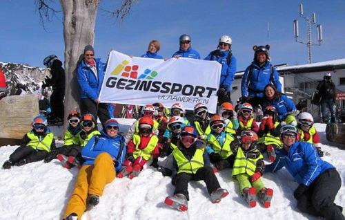 Gezinssport Vlaanderen staat klaar voor onbezorgde wintersport