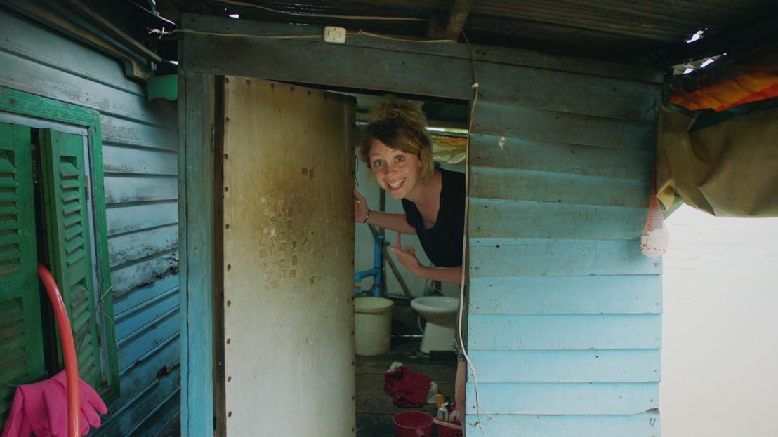 Goed gezien! - onhygiënisch toilet in Cambodja - (c) Padaboem