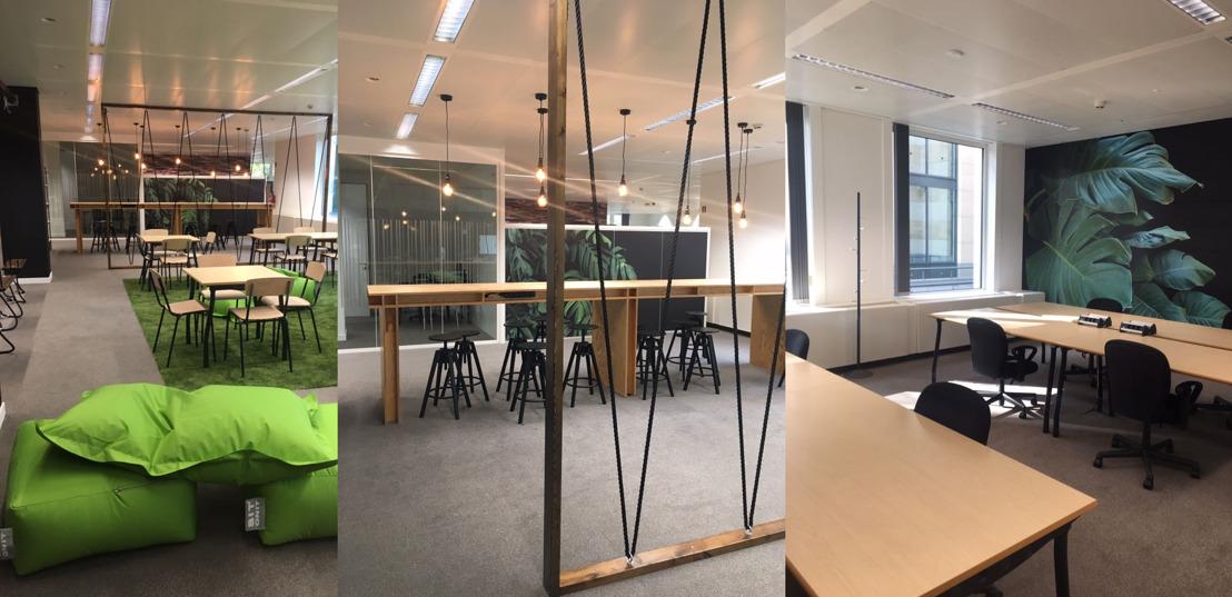 PERSUITNODIGING: Housewarming gloednieuwe Brusselse hub Start it @KBC