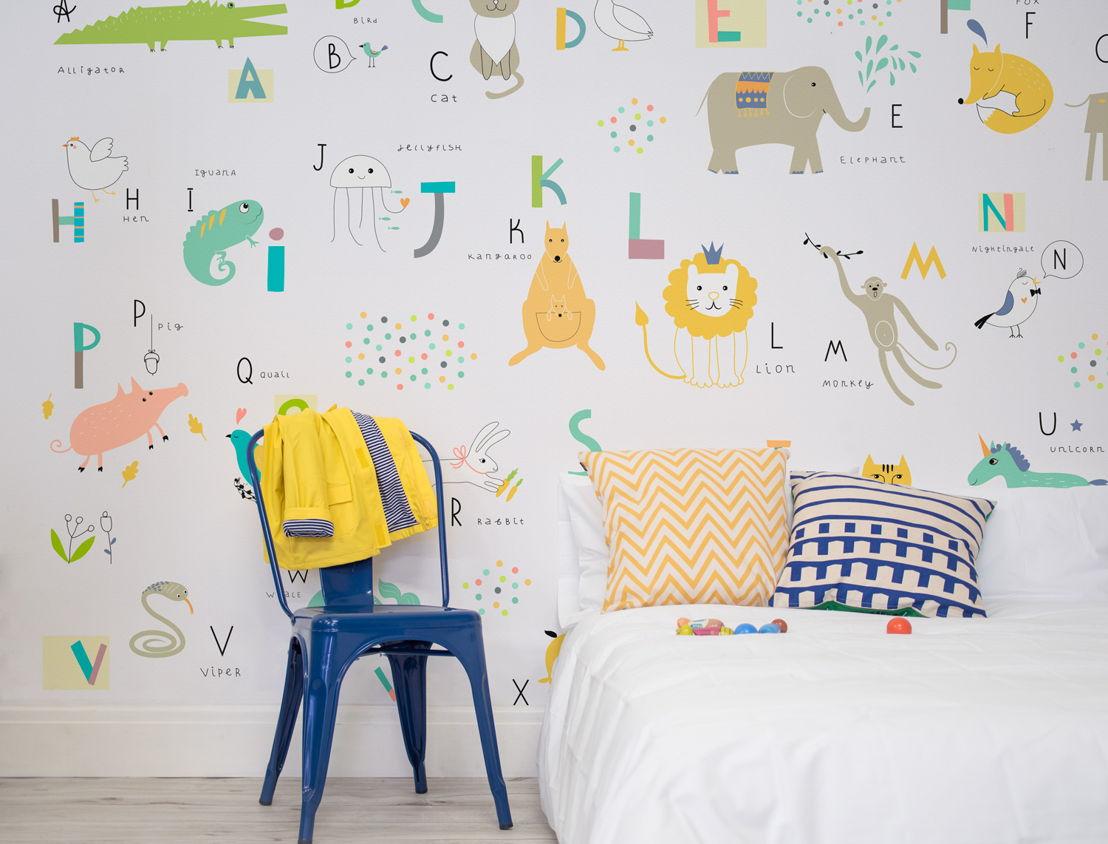 Literacy - Pre-School Alphabet Wallpaper Mural