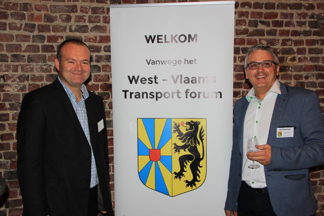 DKV Euro Service et le West-Vlaams Transport Forum célèbrent leurs 10 ans de partenariat