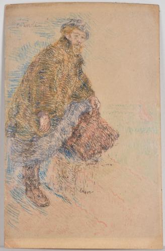 Koninklijke Bibliotheek van België koopt zeldzame postkaart van James Ensor met bijzonder verhaal