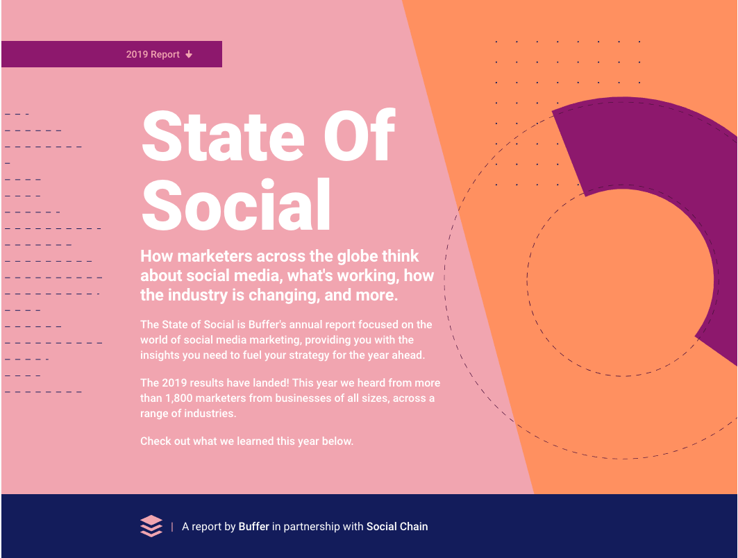 Buffer Publishes 2019 State Of Social Report