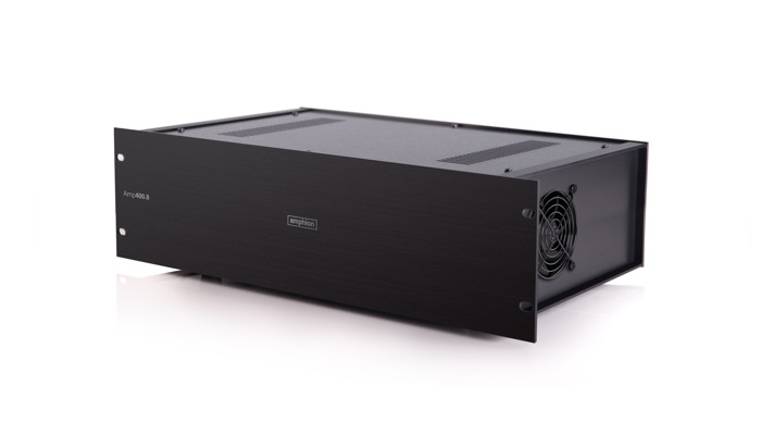 Preview: Beautifully Immersive: Amp400.8 Multi-Channel Power Amplifier - the Amphion   Atmos Solution