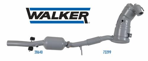 Walker®, il Marchio per il Controllo delle Emissioni di Tenneco, Presenta il Primo Sistema di Riduzione Catalitica Selettiva (SCR) di Ricambio per l'Aftermarket Europeo