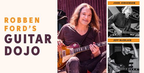Sweetwater to Host Robben Ford's Guitar Dojo