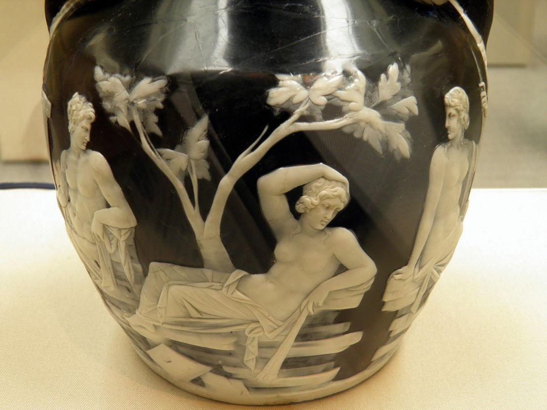 Detail of the Portland Vase. Image: Carole Raddato, Flickr
